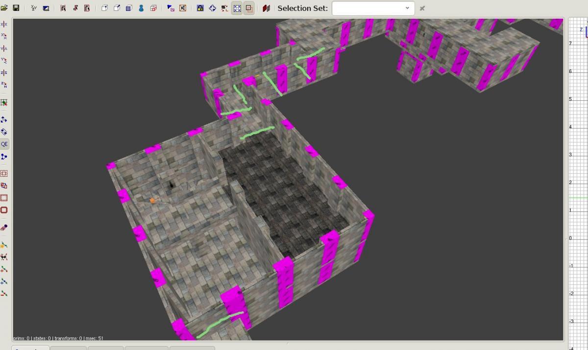 Procedural dungeon (crawler) generation (swift mazes) - TDM